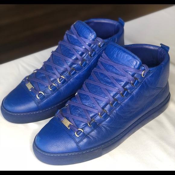 buy \u003e balenciaga runners men blue, Up